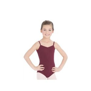 Capezio Girls' Classics Leotard Large Burgundy